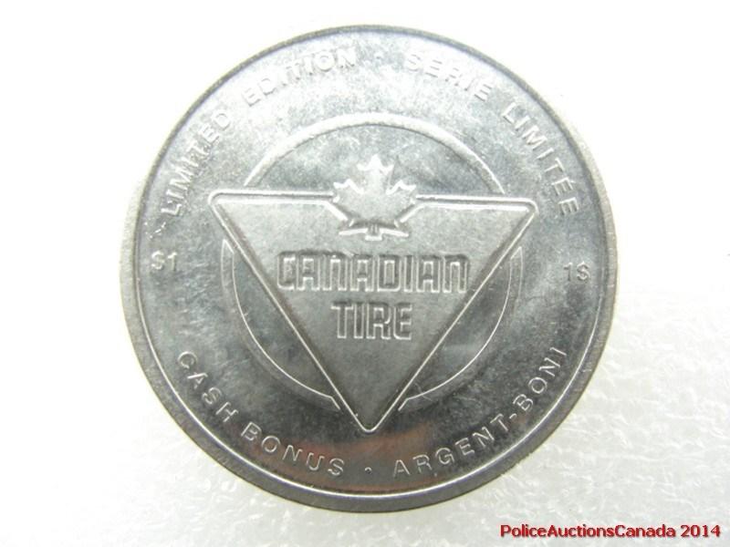 2010 canadian tire 1 dollar coin