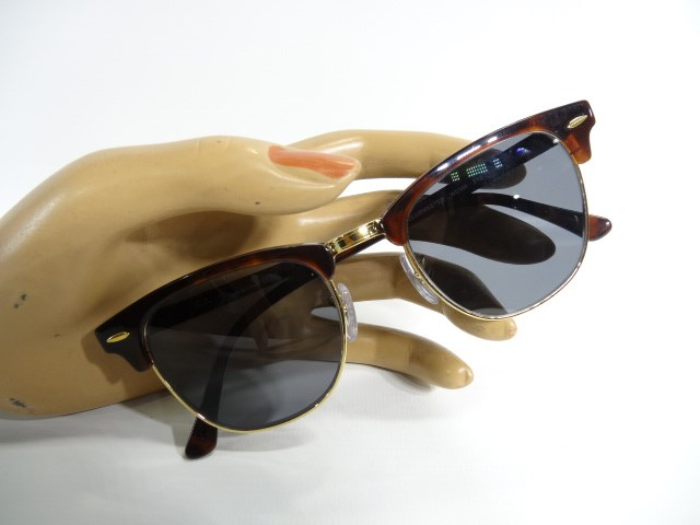 89aafadfc1 Police Auctions Canada - Ray Ban RB 3016 Clubmaster Prescription ...