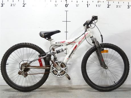 Police Auctions Canada Sportek Muddawg 18 Speed Ds Youth Bike 119510d Mud dawg the biggest and the best truck at the mud bogg! sportek muddawg 18 speed ds youth bike