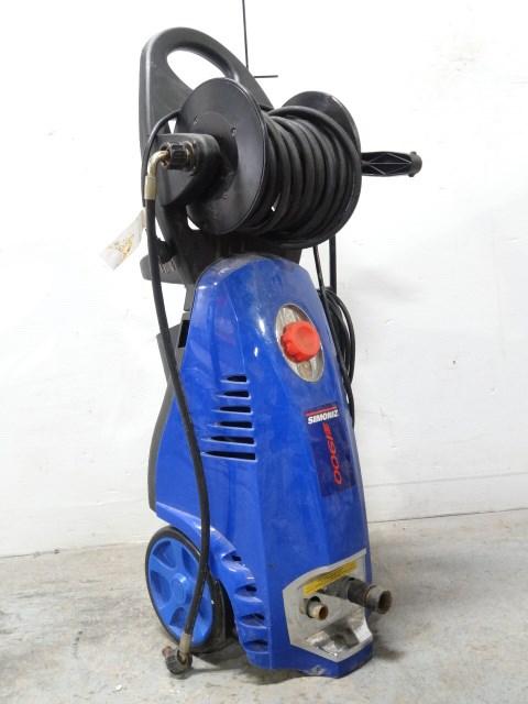 Police Auctions Canada Simoniz S1900 Electric Pressure