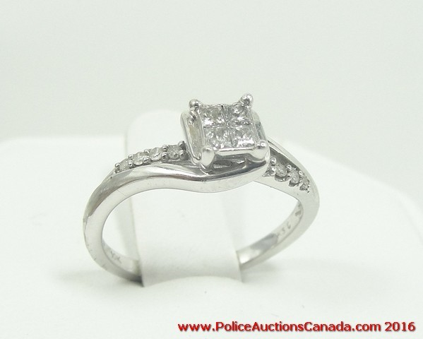 police wedding rings auctions canada 10k white gold amp 6708