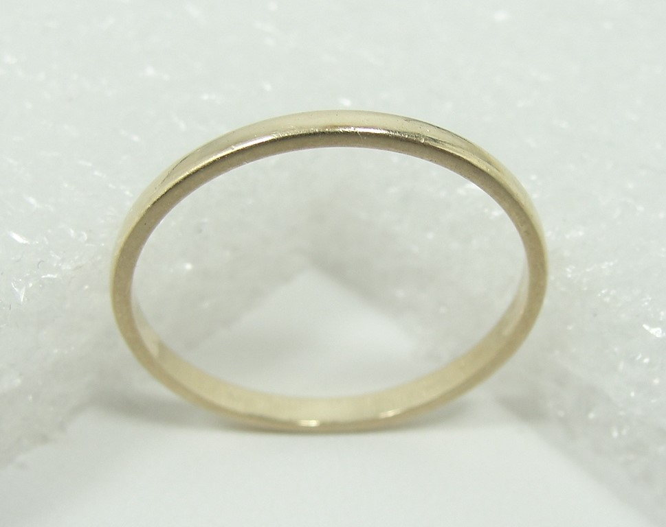 auctions canada 10k gold ring band 115716f