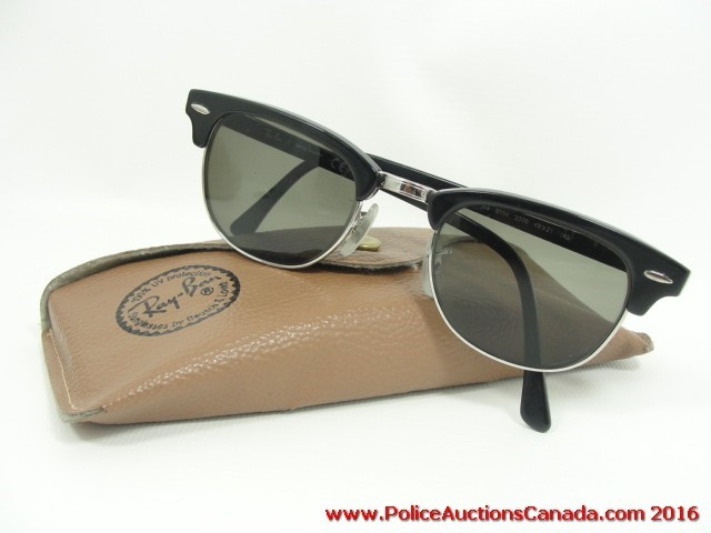 ebb1581ccf Police Auctions Canada - Ray-Ban Clubmaster