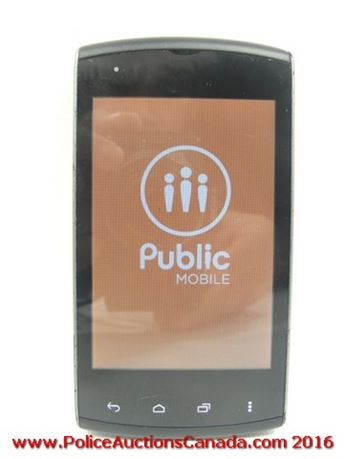 Police Auctions Canada - Kyocera Rise C5155 Phone (Public
