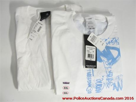 Police Auctions Canada 2 Assorted T Shirts And1 Bluenotes