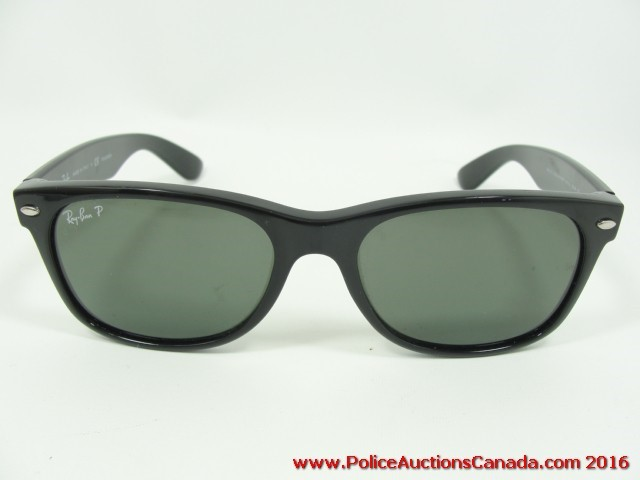 f188f75115 Police Auctions Canada - Ray Ban New Wayfarer Polarized Sunglasses ...