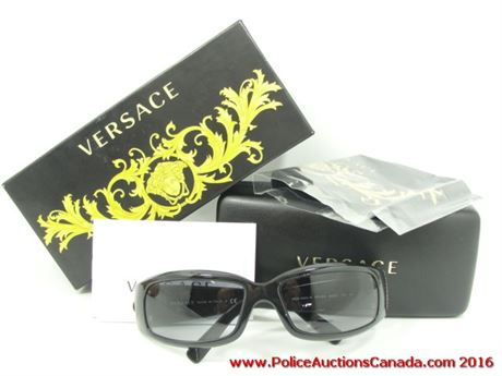 Versace Sunglasses Mod 4044 B  police auctions canada versace 4044b sunglasses 127310l