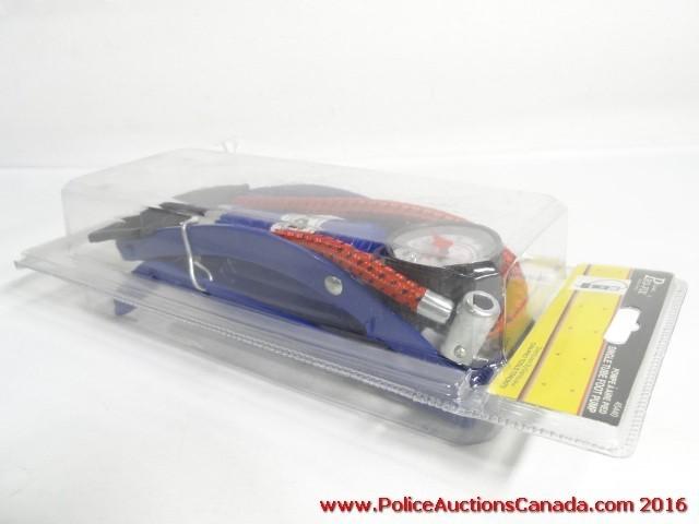 Auctions Canada - Canada Pro-Fix Single Tube Foot Pump (123644A