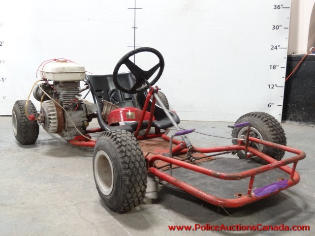 Police Auctions Canada Tom Cat Gas Powered Go Kart 129790a