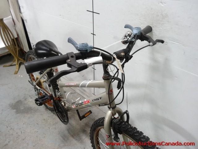 Police Auctions Canada Sportek Ridgerunner 18 Speed Youth Bike 128799d Ost standards for oversized steel tubing welcome. police auctions canada