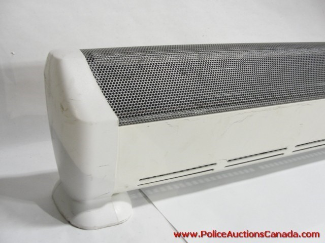 Portable Baseboard Heating : Police auctions canada honeywell hz c portable