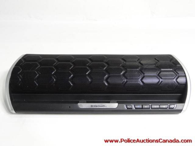 Police Auctions Canada - BlackWeb Soundwave Portable