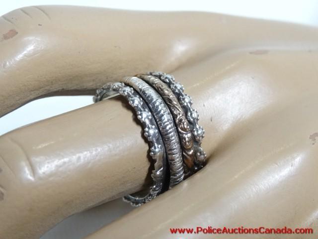 Tibetan Prayer Spinner Ring
